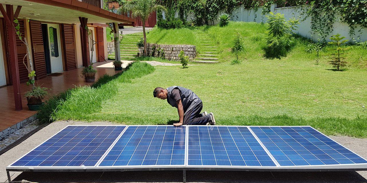 Nous passons à l'énergie solaire
