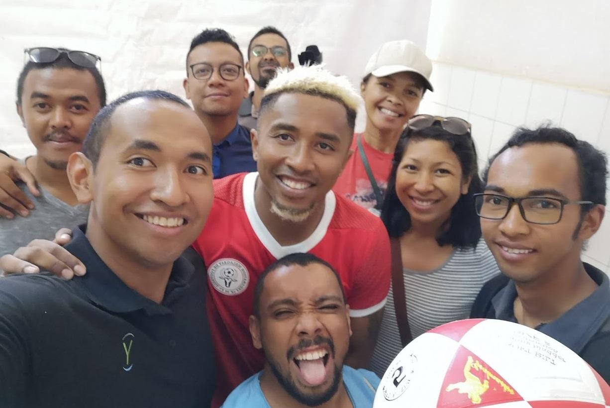 Ymagoo, avec les Barea durant la CAN 2019