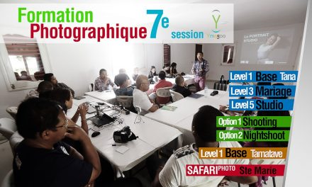 7e session, Formation photographique