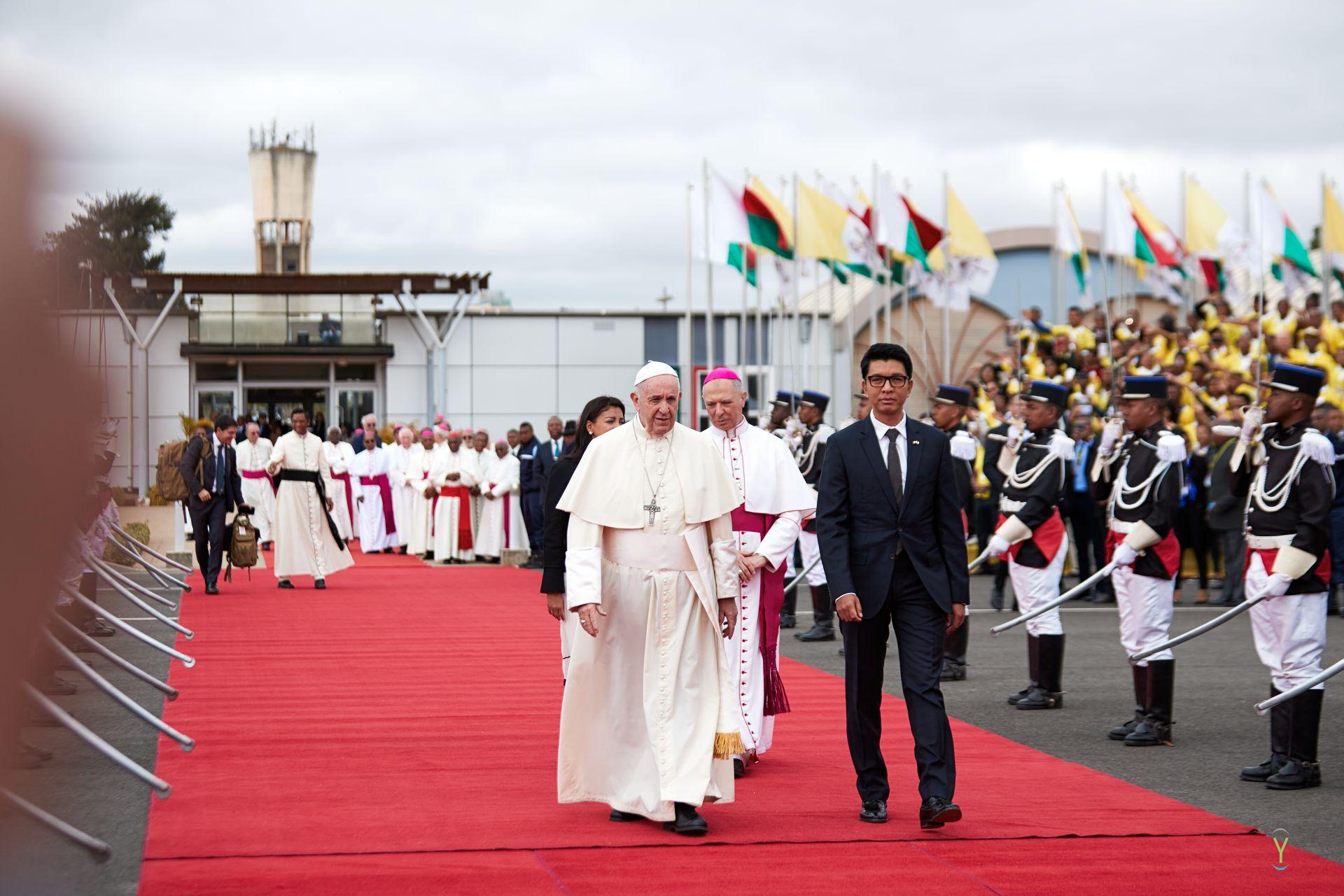 Fin du voyage apostolique du Pape dans l'Océan Indien